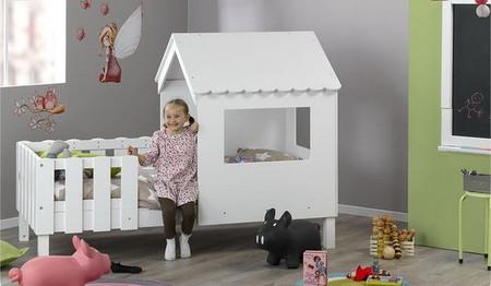 SWAM una cama con cabaña para juegos perfecta para tus hijos