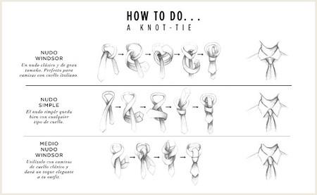 como anudar corbata