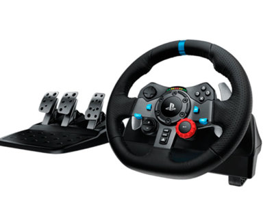 Con el Driving Force G29 de Logitech a 267 conducirás como un verdadero piloto en PS y en PC