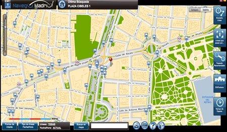 Los autobuses públicos de Madrid tienen una nueva web con información en tiempo real