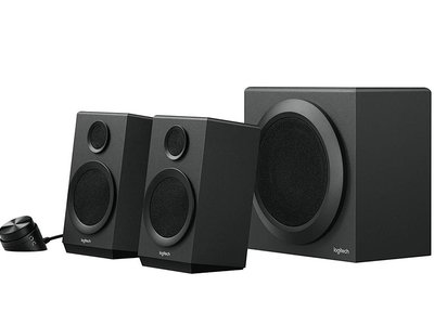 Los Logitech Z333 mejoran el sonido de tu PC por sólo 46,98 euros en PcComponentes