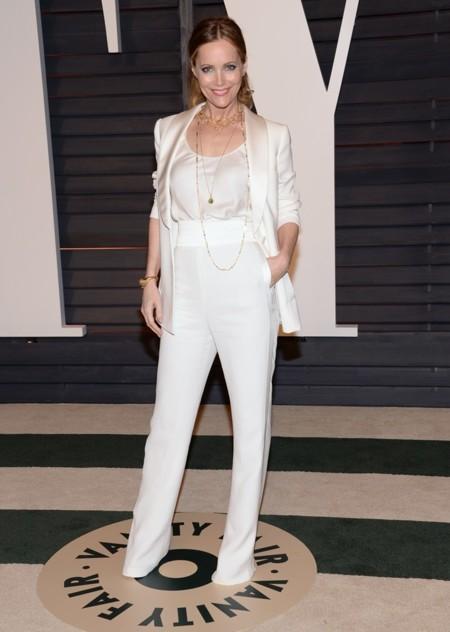 Leslie Mann en la fiesta Vanity Fair