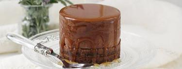 Semifrío de chocolate a la miel de lavanda, receta de postre fácil para una ocasión especial