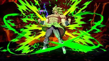 Broly (DBS) desata su abrumador poder en su primer set de imágenes de Dragon Ball FighterZ