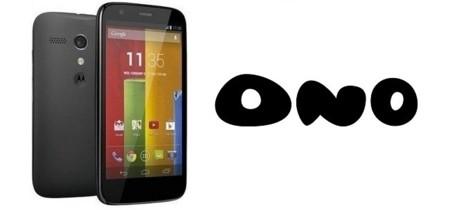 Precios Motorola Moto G con ONO