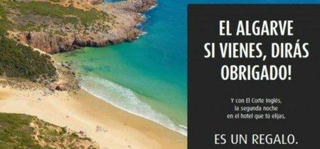 Una noche gratis en el Algarve con 'El Corte Inglés'