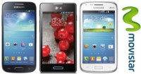 Precios Samsung Galaxy S4 mini, Galaxy Core y LG Optimus L5 II con Movistar