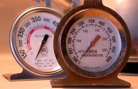 Termómetros de horno