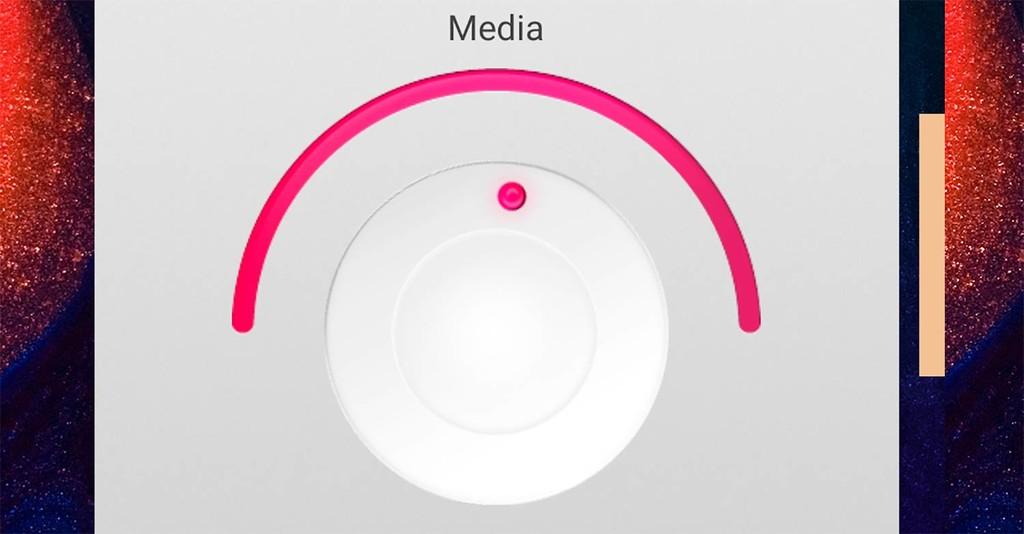 Steuert die lautstärke an ihrem Android-handy zum detail, mit Knobby Volume Control