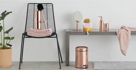 Negro y cobre para tu cuarto de baño, diez accesorios para ...