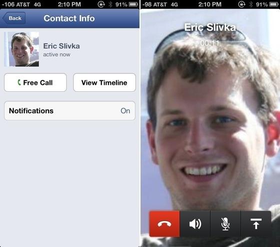 VoIP en Facebook