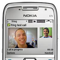 Fring expande las videollamadas a los terminales Symbian OS 9.2