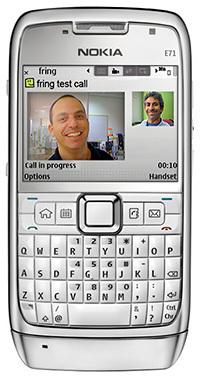 Fring sigue expandiendo las videollamadas en más terminales Symbian