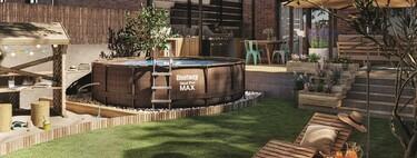 ¿Quieres tener una piscina en el jardín en 24 horas? Leroy Merlin nos da las claves