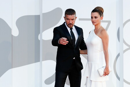 Penelope cruz y Antonio Banderas