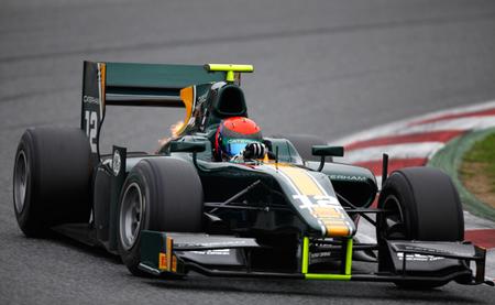 Dani Juncadella y Sergio Canamasas destacan en el segundo día de pruebas de la GP2, con Alexander Rossi por delante