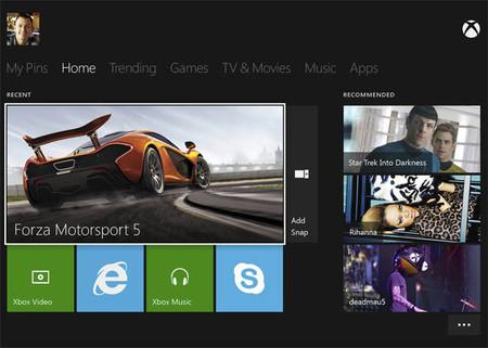 El menú de Xbox One en vídeo gracias a una filtración