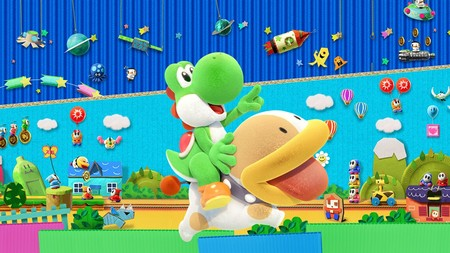 El tráiler de lanzamiento de Yoshi's Crafted World es lo más bonito que verás hoy. Sin contar con el propio juego, claro