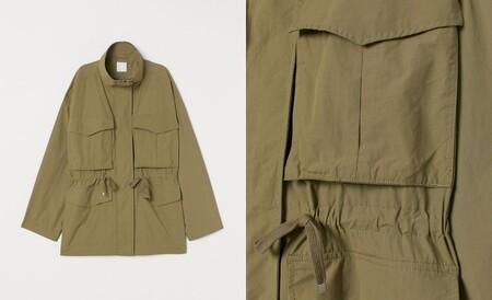 chaquetas estilo militar