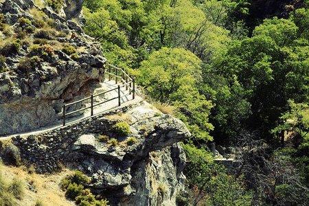 Ruta de los Cahorros de Monachil (Granada)