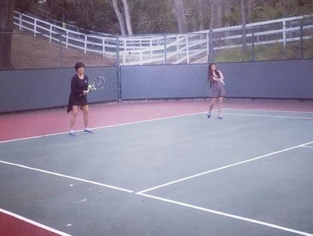 familia kardashian tenis