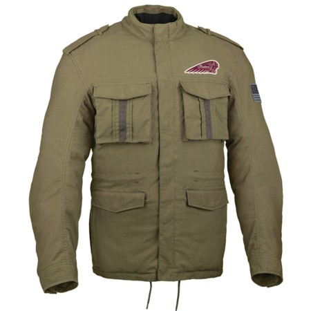Indian Military Jacket 02