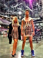 Pero... ¿estaba embarazada Fergie o Josh Duhamel?