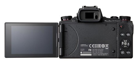 Powershot G1 X Mark Iii Back Lcd Out
