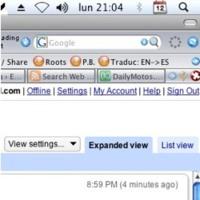 Google Reader actualizando las suscripciones a los pocos minutos de su publicación