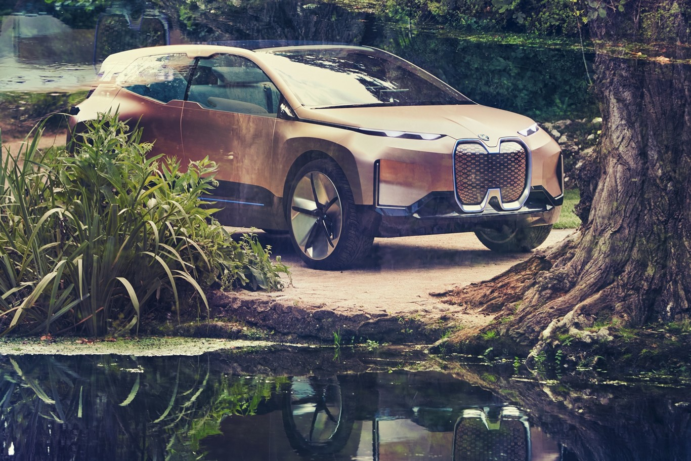 Así es el BMW Vision iNEXT: el SUV prototipo que marcará el futuro de los coches eléctricos de BMW