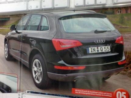 Audi Q5, posibles fotos reales