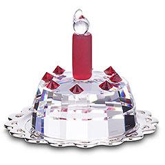 Las tartas de cristal de Swarovski