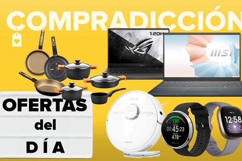Ofertas del día y chollos en Amazon: robots aspiradores Dreame, portátiles ASUS o MSI, monitores HP, relojes Amazfit o menaje Bra a precios rebajados