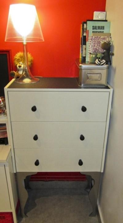 Transformación cómoda Rast de Ikea