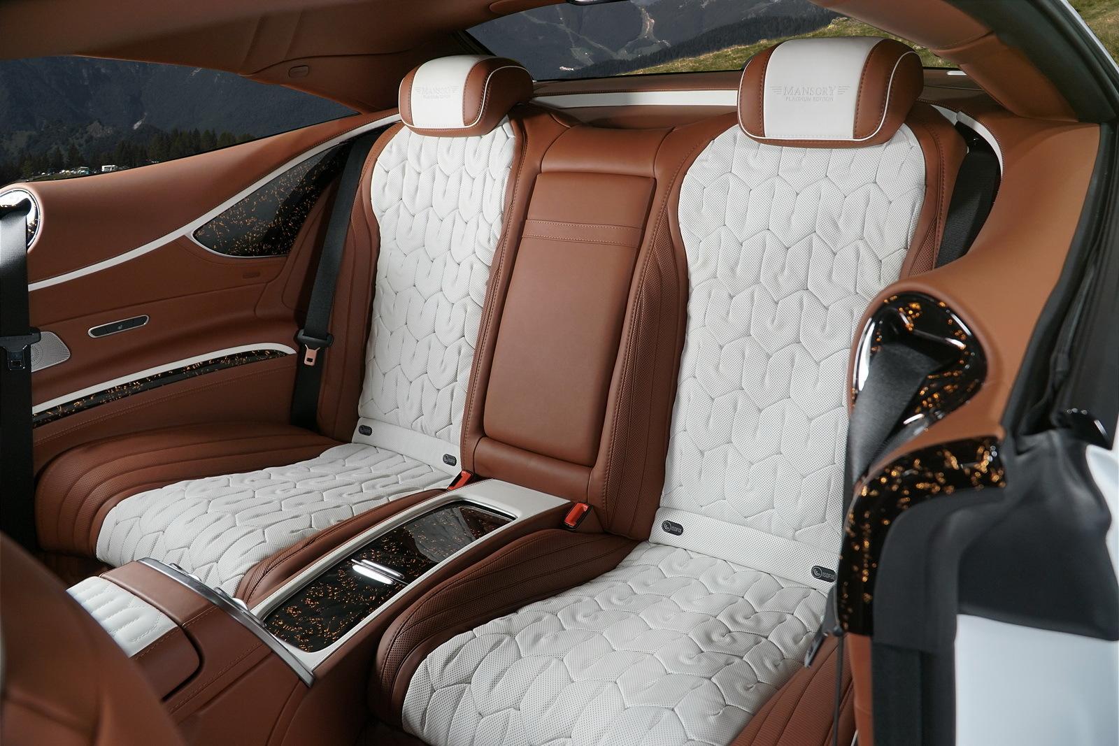 Mansory Clase S Coupé Platinum Edition