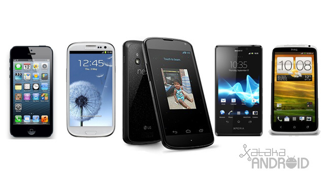Comparativa Nexus 4