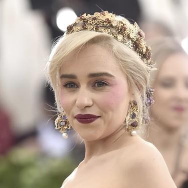 Gala MET 2018: Emilia Clarke alcanza la perfección con su Dolce & Gabbana