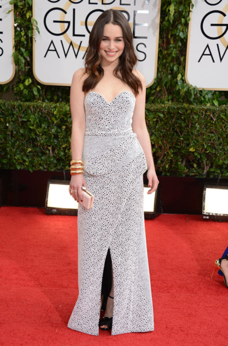Emilia Clarke Globos de Oro 2014