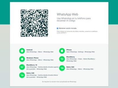 WhatsApp Web finalmente llega al iPhone (Actualizado: Ya disponible para todos)