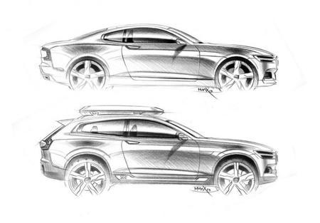 Volvo Concept Coupé y Volvo XC Concept