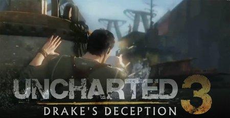 'Uncharted 3: Drake's Deception': nuevo tráiler 3D con varias escenas nuevas