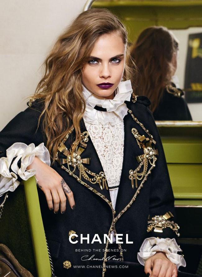 Cara Delevingne Chanel Metiers