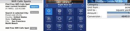 Aplicaciones viajeras básicas para usuarios de Blackberry