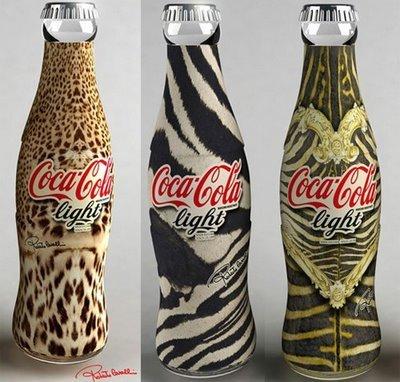Roberto Cavalli diseña para Coca Cola
