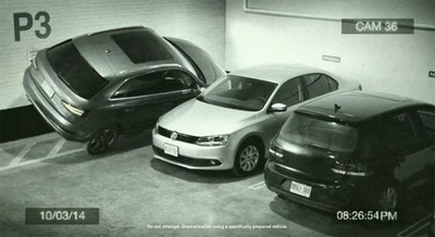 Este Audi Q3 aparca donde quiere (y el cómo se hizo)