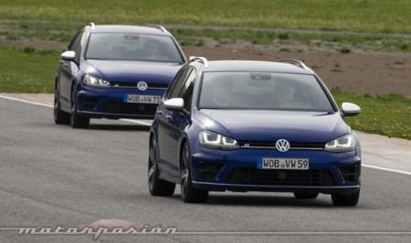 Volkswagen Golf Variant R, prueba