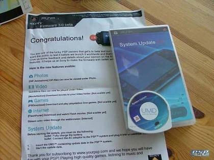 Rumor: ¿Firmware 3.0 para PSP?