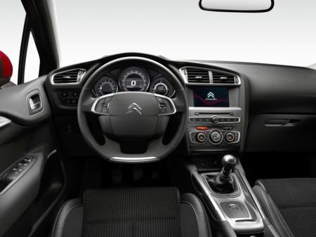 Citroen C4 2015 prueba - interior