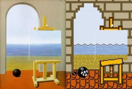 El arte de René Magritte ahora también en versión Nintendo