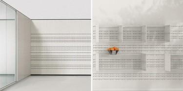 Hook, un muro de almacenaje diseñado por Jean Nouvel